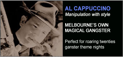 Magic Shows from Al Cappuccino