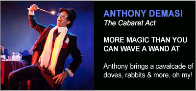 Stage Magic Shows from Anthony DeMasi