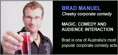 Magic Shows from Brad Manuel