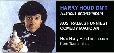 Magic Shows from Harry Houdidn't
