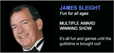 Magic Shows from James Sleight