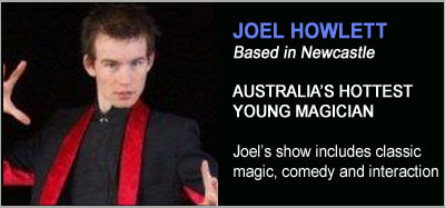 Magic Shows from Joel Howlett