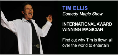 Stage Magic Shows from Tim Ellis