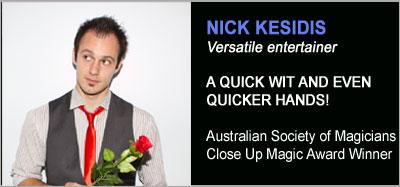 Strolling Magicians - Nick Kesidis