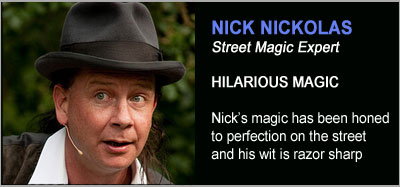 Magic Shows from Nick Nickolas