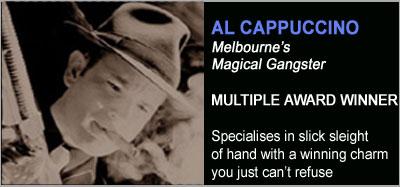 Strolling Magicians - Al Cappuccino