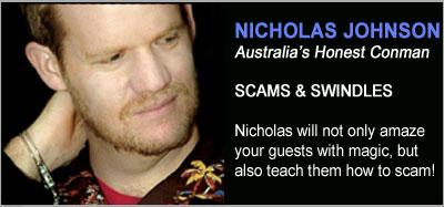 Strolling Magicians - Nicholas J Johnson