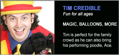 Strolling Magicians - Tim Credible