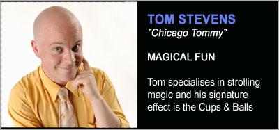 Strolling Magicians - Tom Stevens