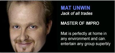 Strolling Magicians - Mat Unwin