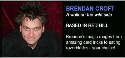 Strolling Magicians - Brendan Croft