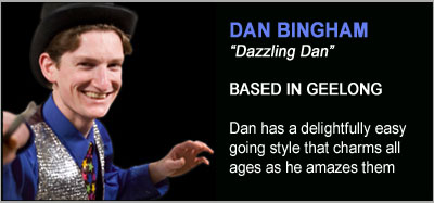 Strolling Magicians - Dazzling Dan