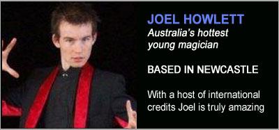 Strolling Magicians - Joel Howlett