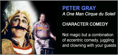 Strolling Magicians - Peter Gray