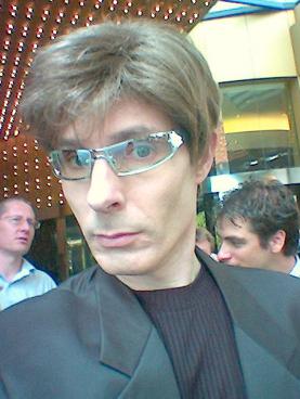 Tim Ellis in disguise
